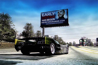 NFS PS: Pubblicità di Obama in-game