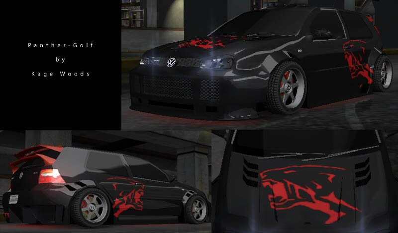 Need For Speed Underground Vinyls Kagewoods_panther