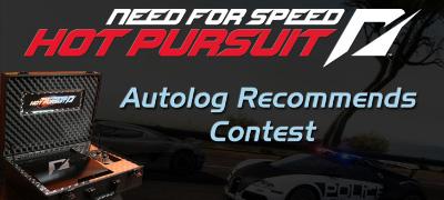 NFS Hot Pursuit: Autolog Recommends Contest