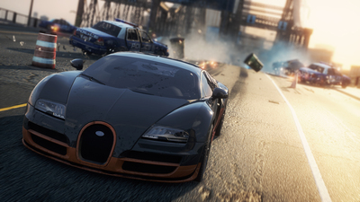 NFS Most Wanted: Bugatti Veyron Super Sport