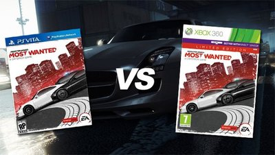 NFS Most Wanted: PS Vita confronto grafico
