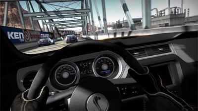 NFS Shift: gli interni della Shelby GT500