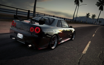Nissan Skyline R34 Art Director