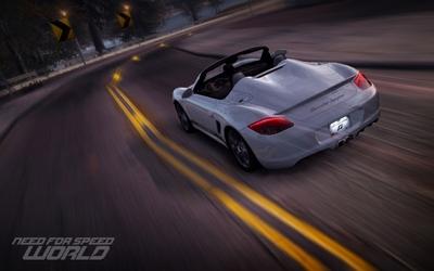 NFS World: Porsche Boxster Spyder