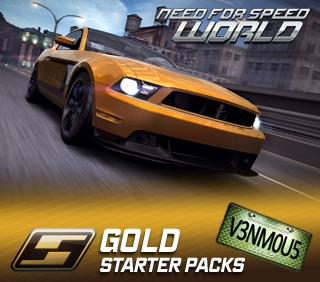 NFS World Starter Pack Gold