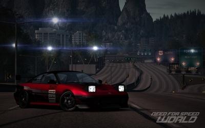 "NFS World: Toyota MR2 ""Gymkhana"" Edition & Lamborghini Valentino Balboni Cop Edition"