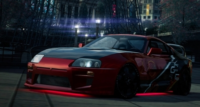 NFS World: Modifiche Estetiche