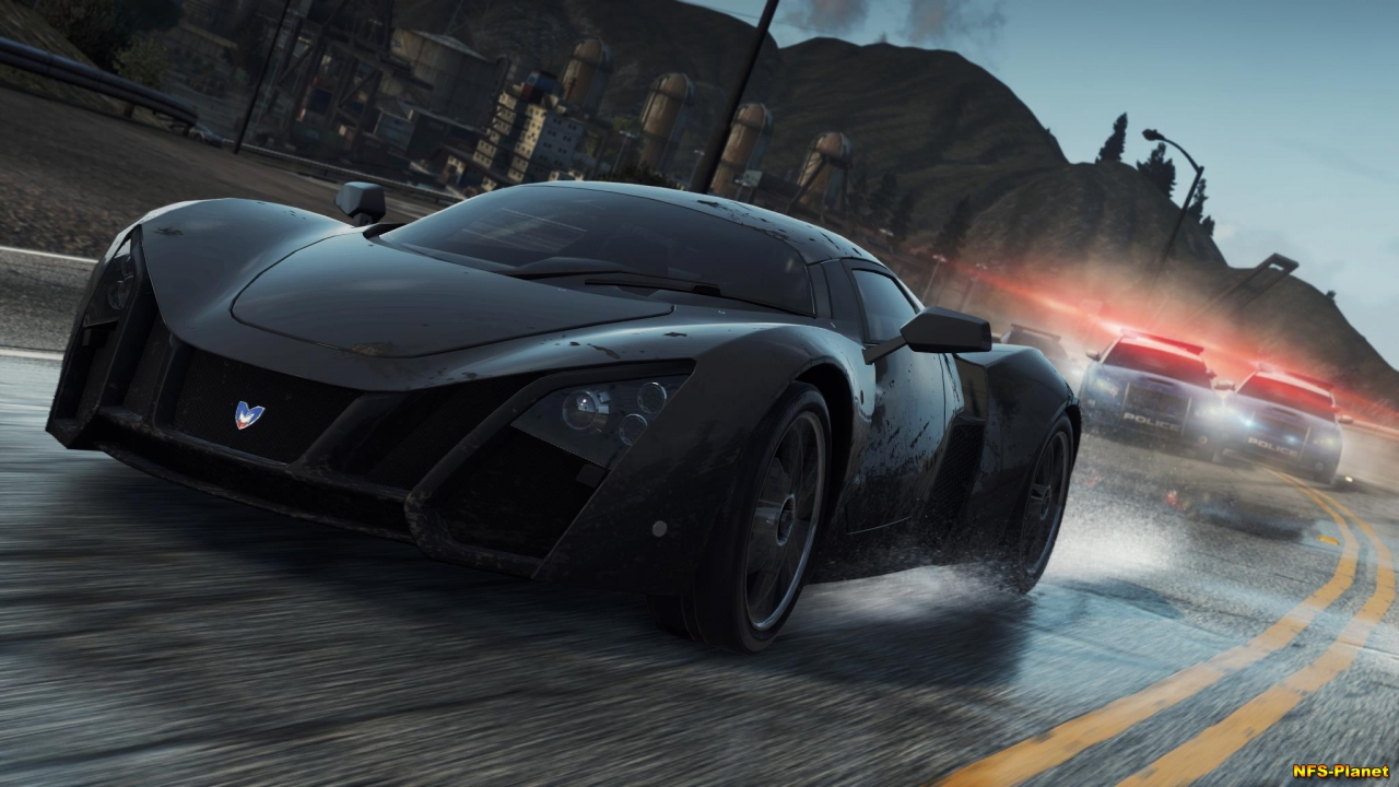 Marussia B2 in Need for Speed Most Wanted